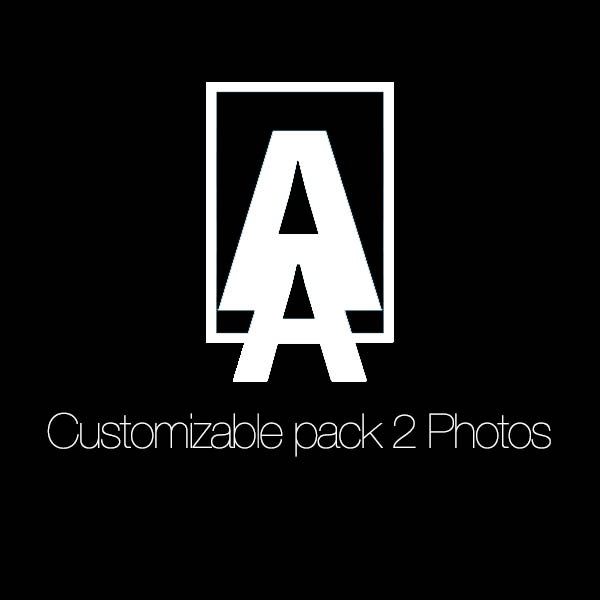 Customizable pack 2 photos